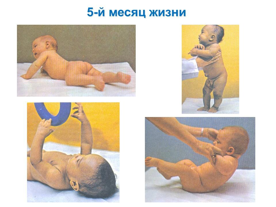 Фото детей 5-го месяца жизни