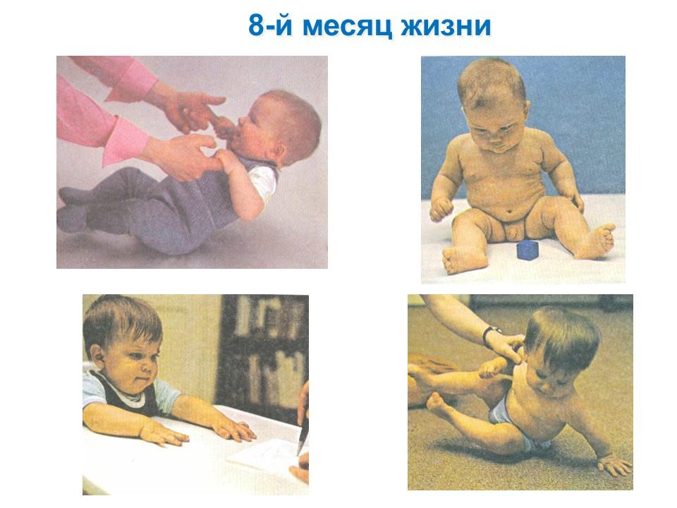 Фото детей 8-го месяца жизни