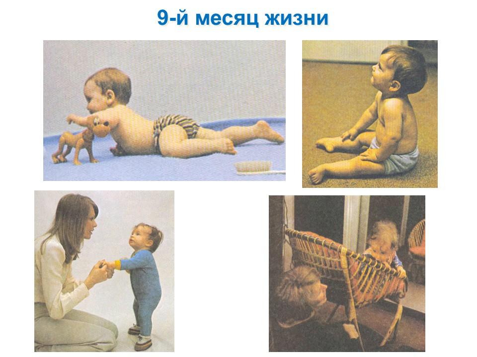 Фото детей 9-го месяца жизни